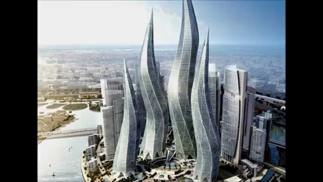 L 39 architecture futuriste youtube - Batiment moderne ...