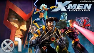 X-Men Legends (PS2) walkthrough part 1