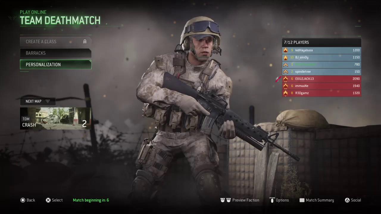 Call of Duty Modern Warfare Remastered (Multiplayer Online)