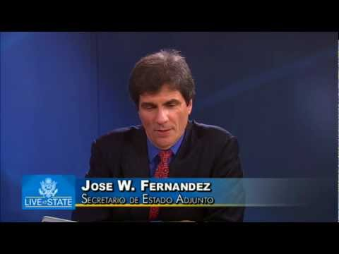 Assistant Secretary Fernandez Participates in a LiveAtState on U.S.-Mexico Relations in Spanish