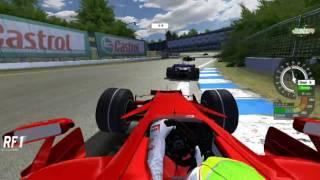 F1 Race onboard Ferrari at Toban Raceway - FS One 2008 / RFactor