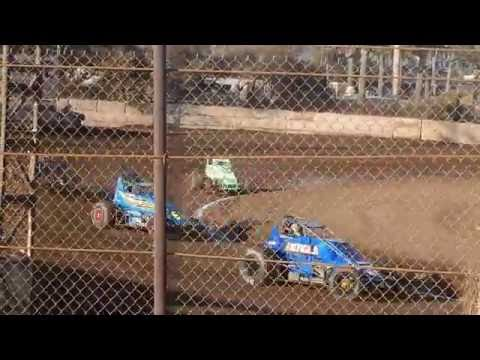 VRA Senior Sprint Car Heat Race Ventura Raceway 9/10/16