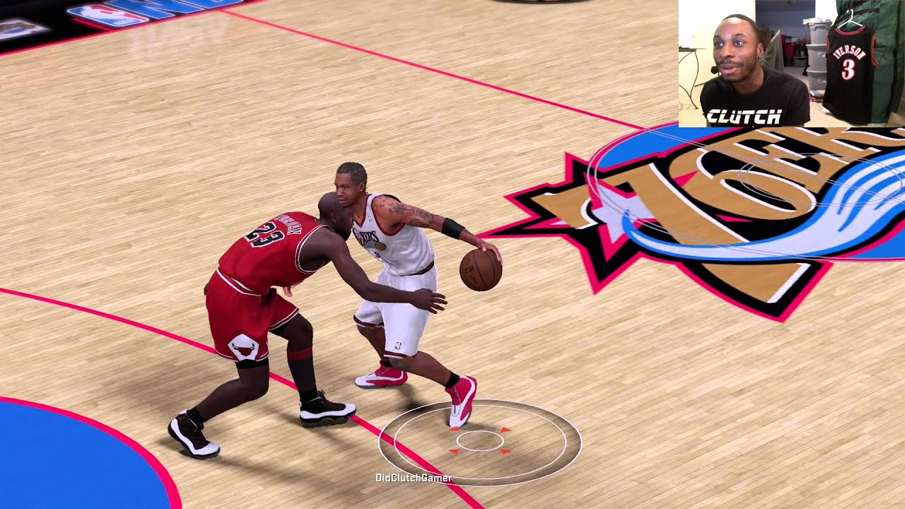 Can I Recreate Allen Iversons Famous Crossover Against The GOAT Michael Jordan NBA2K16 Gameplay
