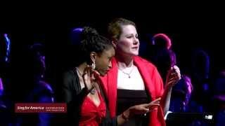 2014 Sing for America Benefit Concert - Nicolle Foland & Shawnette Sulker