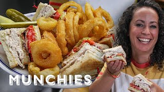 Turkey Club Sandwich & Perfect Onion Rings - The Cooking Show