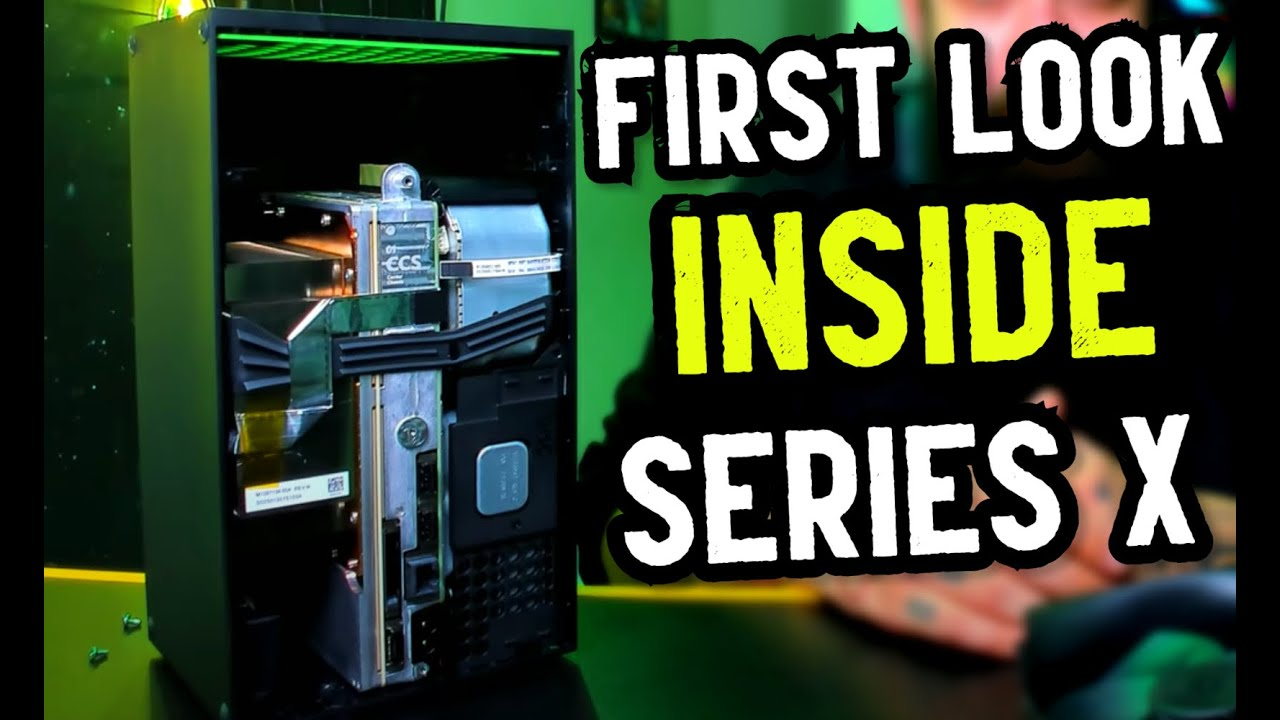 Xbox Series X Hard Unboxing First Internal Look Youtube