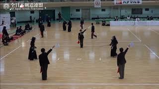 NAGASAKI vs KYOTO 10th All Japan Interprefecture Ladies KENDO Championship 2018 4th Round