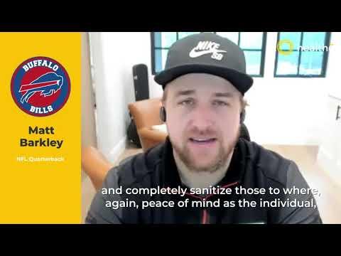 Testimonial - Matt Barkley talks about Healthe, UVC222