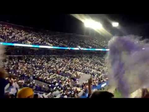 Insane crowd at Commonwealth Stadium 11/5/16