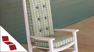 How To Measure For A Custom Rocking Chair Cushion
