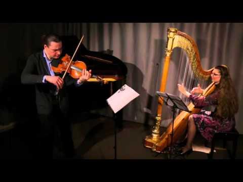 Erik Satie. Gymnopedie no.1 for viola and harp.