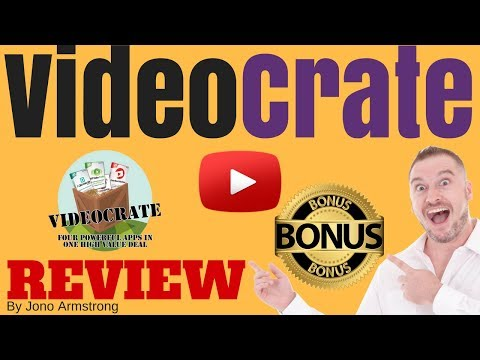 Video Crate Review, [WARNING] DON'T BUY VIDEO CRATE WITHOUT MY **CUSTOM** BONUSES!!!
