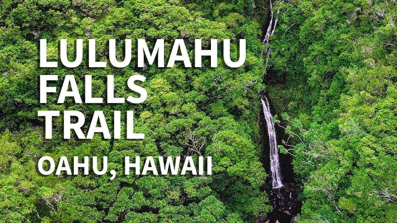 Lulumahu Waterfall Trail on Oahu