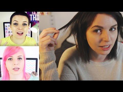 My hair timeline: 2012 - present