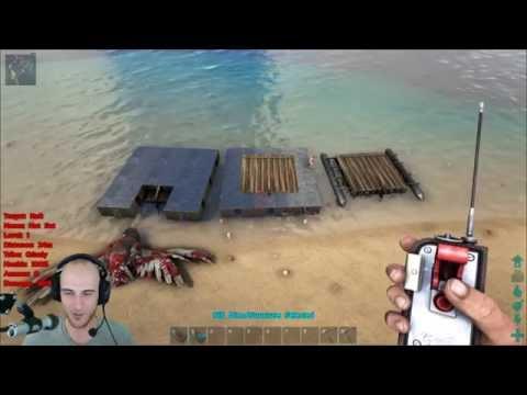 Ark: Survival Evolved - Best Raft Build (Indestructible Raft)