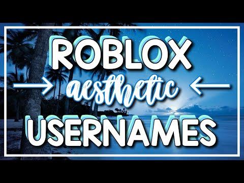 Roblox Aesthetic Usernames Part 2