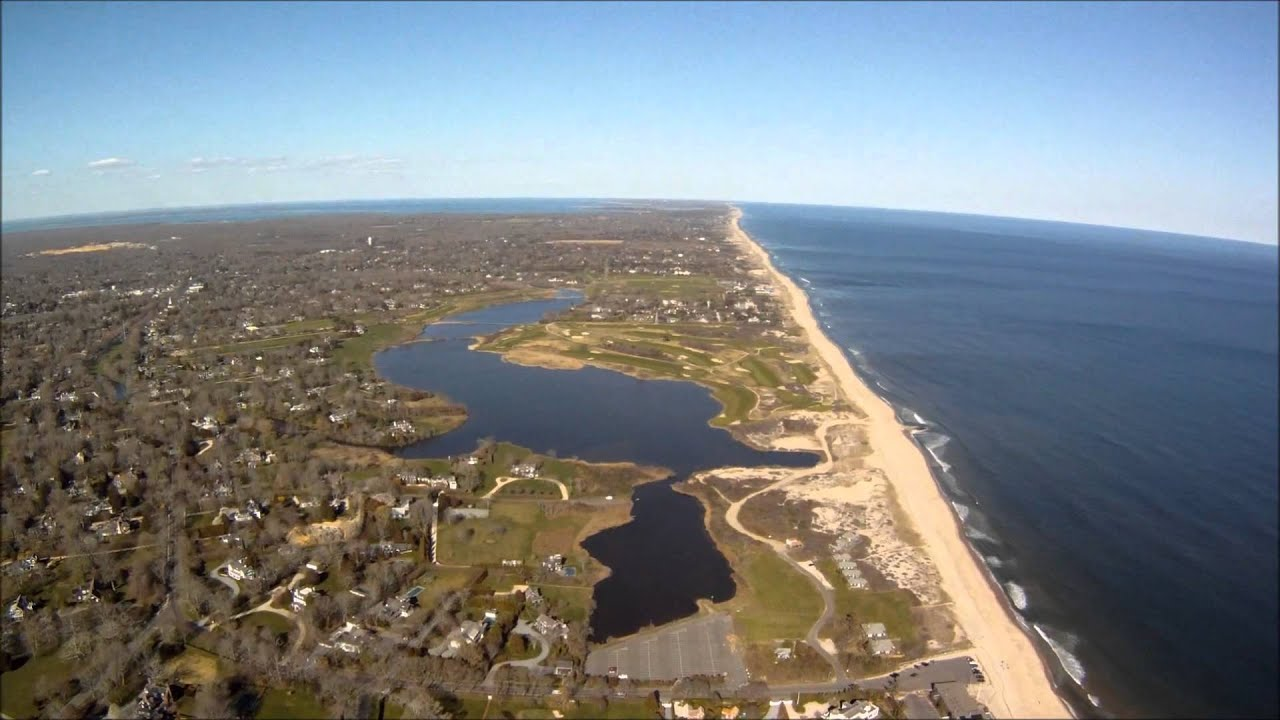flight over east hampton long island youtube. Black Bedroom Furniture Sets. Home Design Ideas