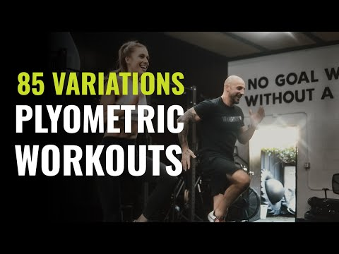 The Best Plyometric Exercises for Vertical Jump, Explosiveness and Athleticism - 85 Variations