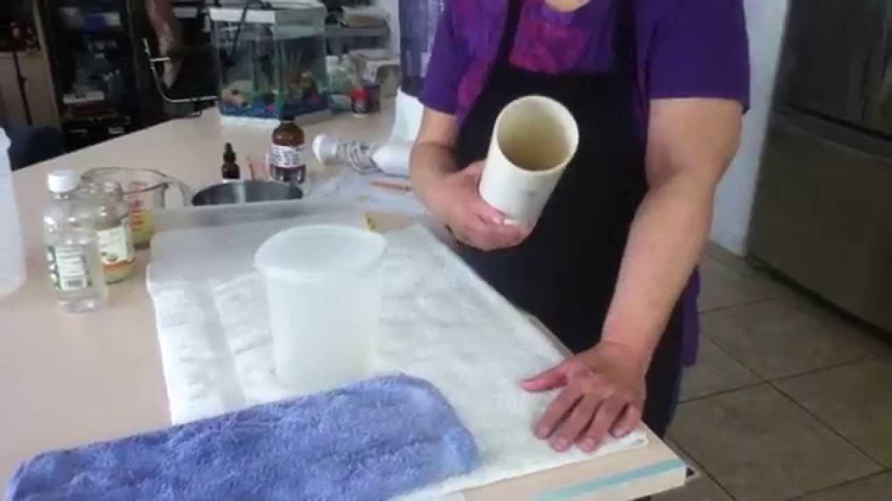 Hacer jab n en casa como usar un tubo pvc de 3 pulgadas - Como hacer esencias para jabones ...