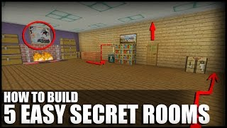 5 Easy Ways To Build Secret Rooms In Minecraft