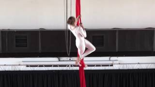 Крачковская Евгения 12 лет - Catwalk Dance Fest VIIl [pole dance, aerial] 14.05.17.