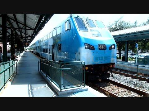 Tri Rail Commuter Train Deerfield Beach Florida
