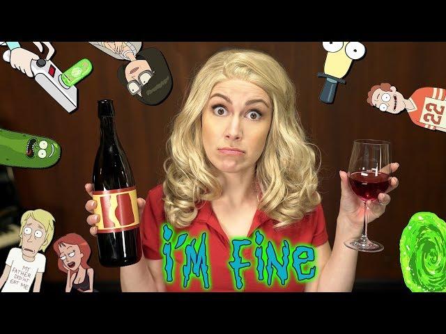 Rick & Morty Song – I'M FINE – Beth In Real Life (Whitney Avalon & Brendan Milburn)