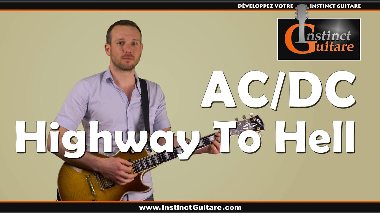 Top AC/DC - Highway To Hell à la guitare - Riff et rythmiques - YouTube PF84