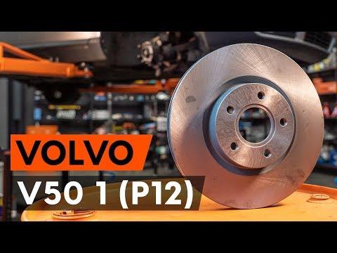 Как заменить передние тормозные диски на VOLVO V50 1 (P12) [ВИДЕОУРОК AUTODOC]