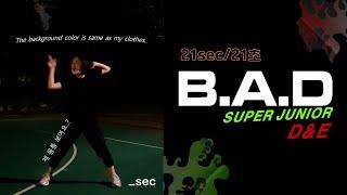SUPER JUNIOR D&E-B.A.D /dance cover _sec