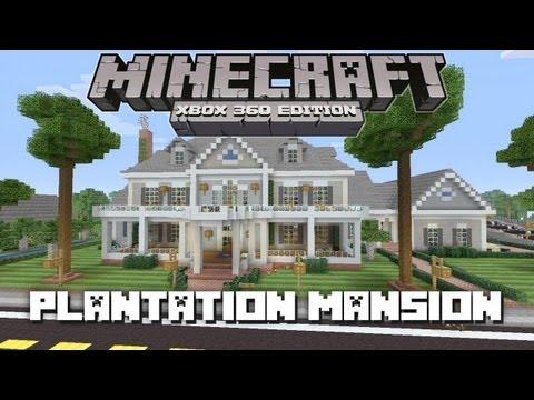 Minecraft Xbox 360: Huge Plantation Mansion! (House Tours of Danville Episode 30)