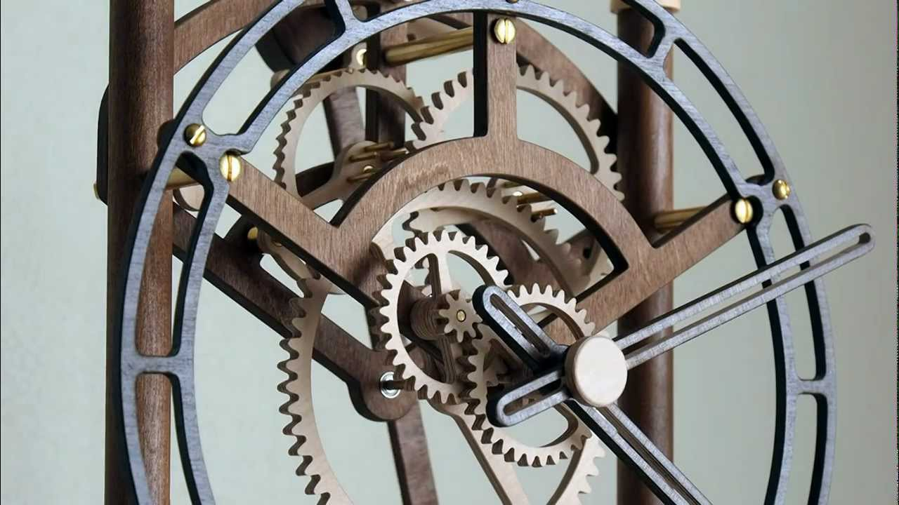 Quintus wooden clock youtube amipublicfo Image collections