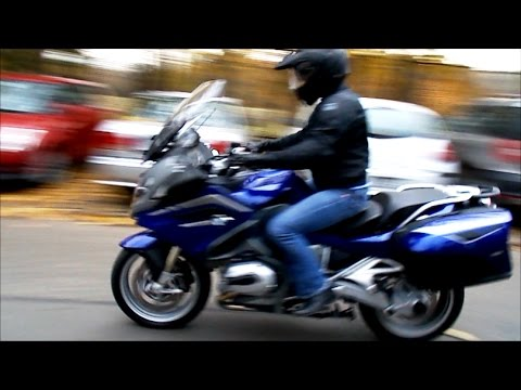BMW R1200 RT observer and rider view
