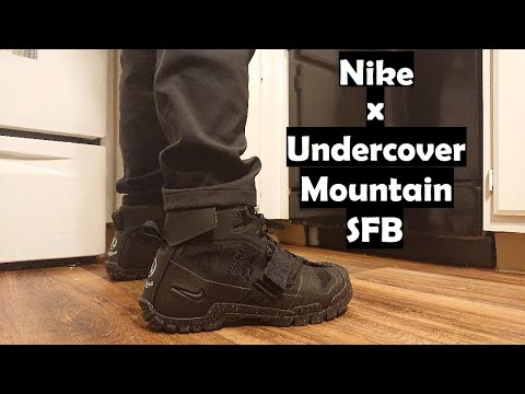 Feetreupload Nike UnboxingReviewamp; On Sfb X Mountain Undercover Black myvwN8n0OP