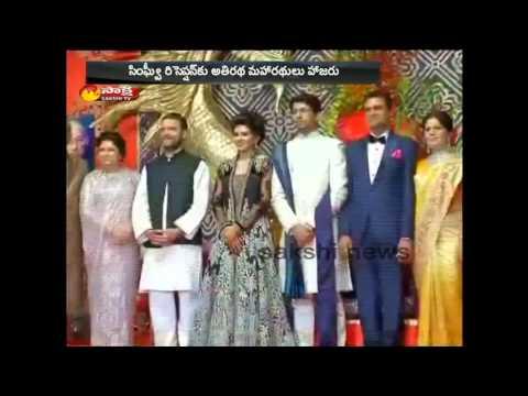 PM Narendra Modi attends wedding reception of Congress leader Abhishek Singhvi's son