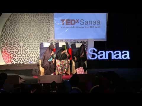 "عجايز ""معك نازل"" في TEDxSanaa"