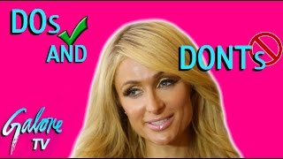 Paris Hilton Give us Her DOs and DONTs of Taking Over the World | Galore TV