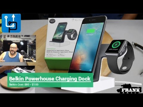 Belkin F8J200ttWHT Powerhouse Charging Dock