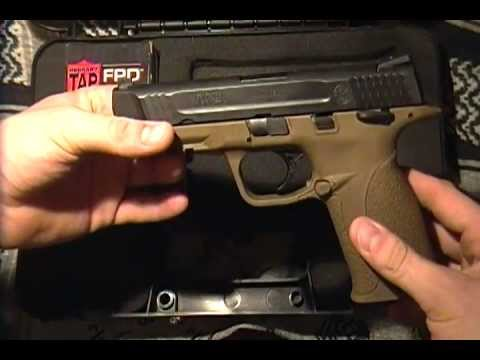 "Smith & Wesson M&P .45 ""Built for duty"""