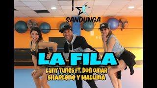 Paquete o empaquetar educación Integración  LA FILA - Luny Tunes ft Don Omar, Sharlene y Maluma #Coreografia Sandunga -  YouTube