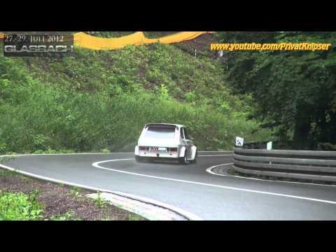 KW Bergcup Gr. H bis 1150 ccm Fiat 127 128 Audi 50 VW Polo Hillclimb // 17. Glasbachrennen 2012 HD