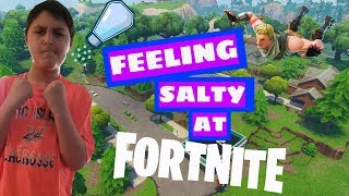 Fortnite Funny Moments - Salty Springs Makes Salty Players