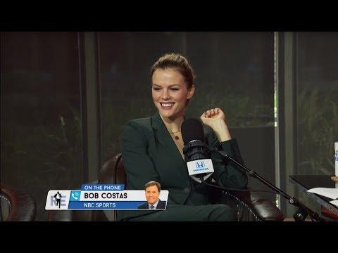 Brooklyn Decker Talks to Bob Costas About Her Dog Named 'Bob Costas'  The Rich Eisen   11818