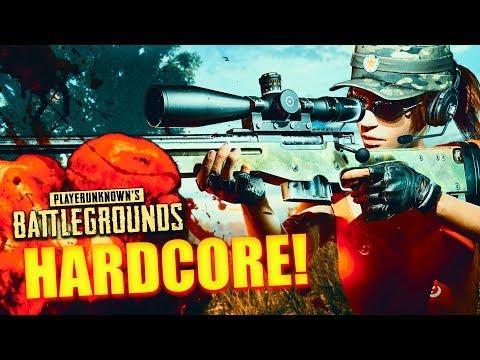 PLAYERUNKNOWN'S BATTLEGROUNDS - Hardcore Modus aktiviert