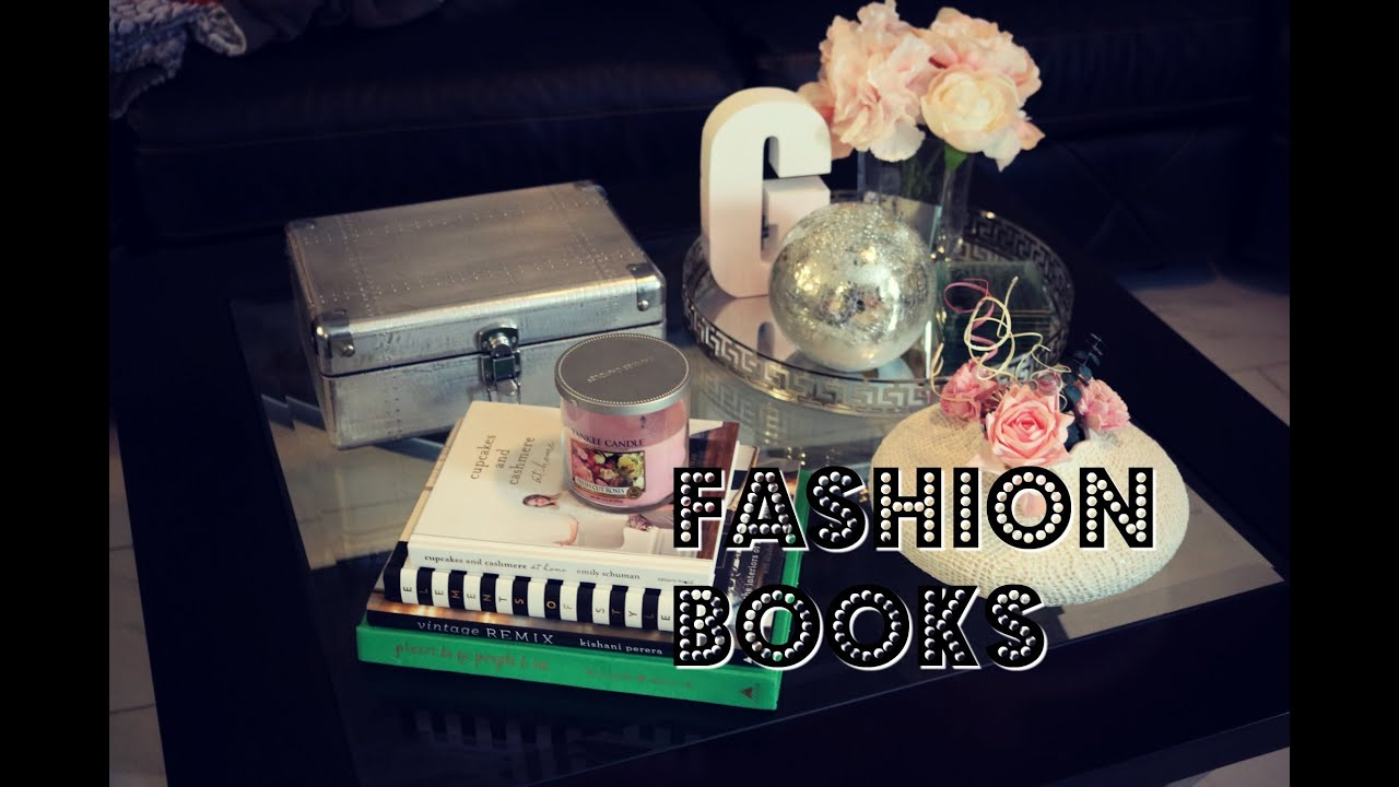 Fashion coffee table books feat Louis Vuitton Chanel Saint