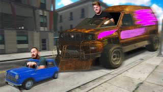ESCAPE THE GIANT VEHICLE CHALLENGE! |GTA5
