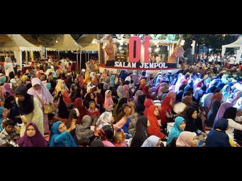 Ibu-Ibu Bersholawat & Indonesia Pusaka Dukung Jokowi - Amin @ Rumah Aspirasi Rakyat #01