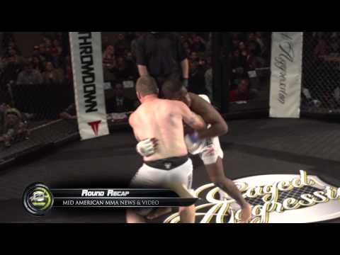 Caged Aggression Challengers Fight 1. Chris Thomsen vs Demarco Teague