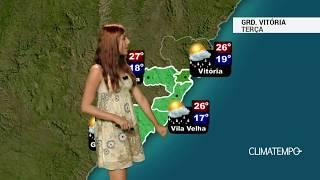 Previsão Grande Vitória - Chuva rápida e calor