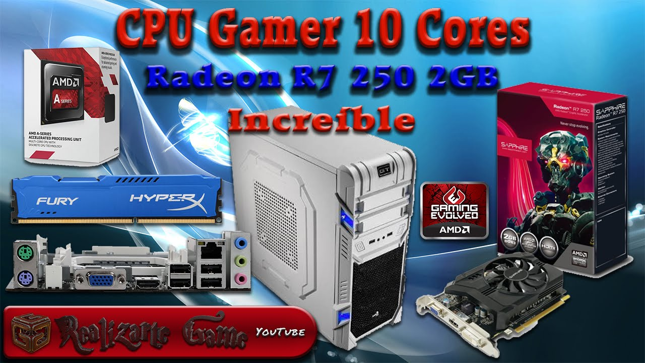 Radeon R7 250 2Gb - Rendimiento